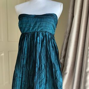 Calypso Silk strapless minidress NEW